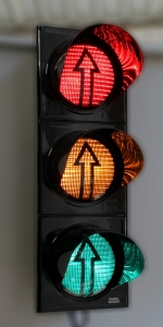 Traffic light 300mm with arrow